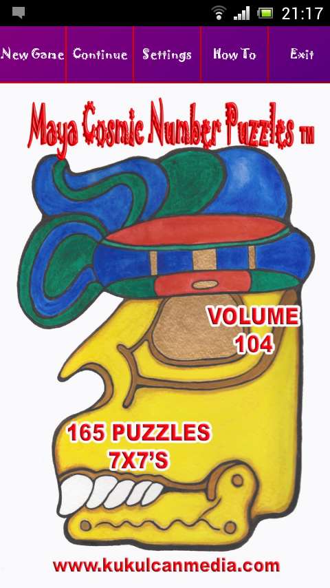 MAYA COSMIC NUMBER PUZZLES 104 Varies with device