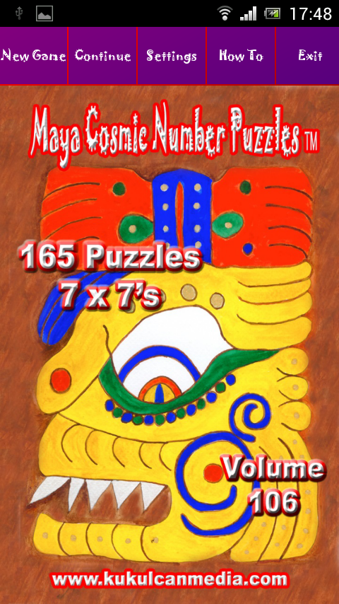 MAYA COSMIC NUMBER PUZZLES 106 Varies with device