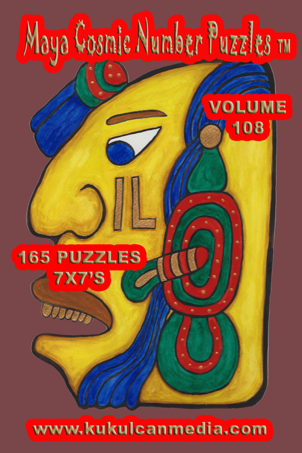 MAYA COSMIC NUMBER PUZZLES 108 Varies with device