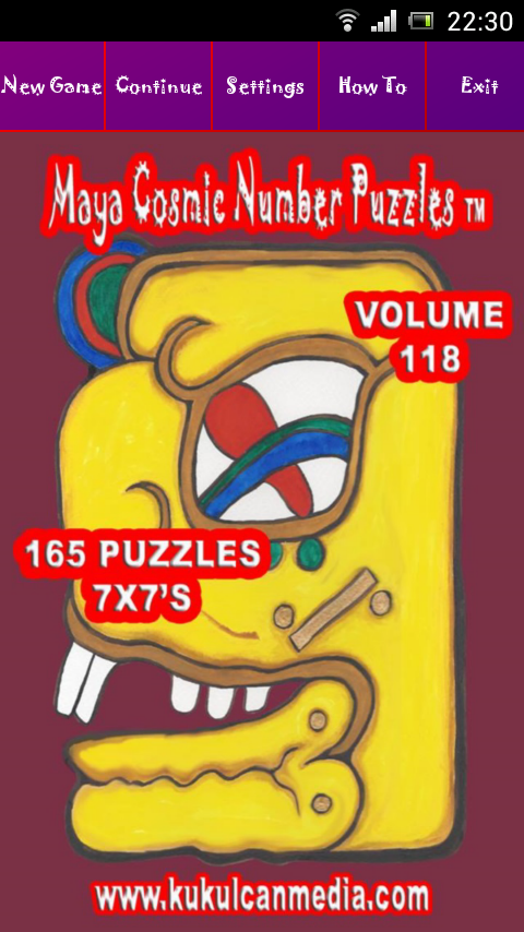MAYA COSMIC NUMBER PUZZLES 118 Varies with device