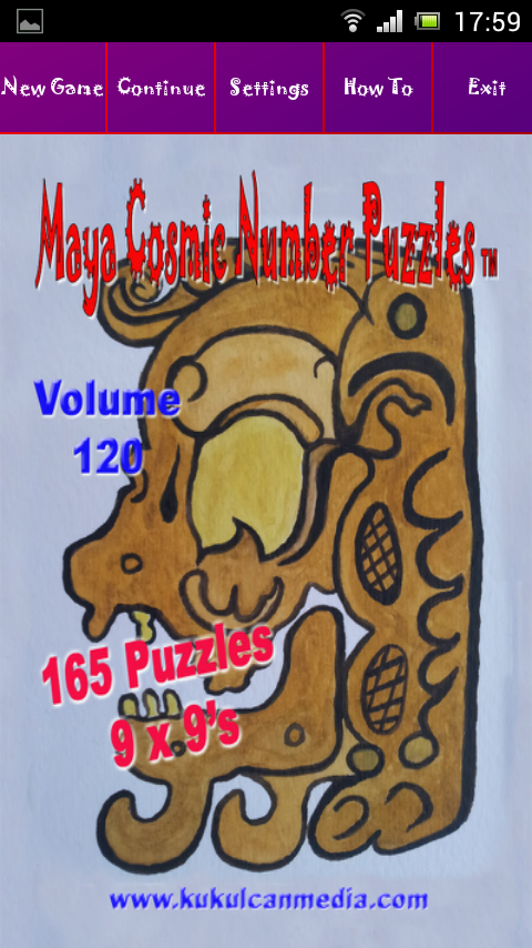 MAYA COSMIC NUMBER PUZZLES 120 Varies with device