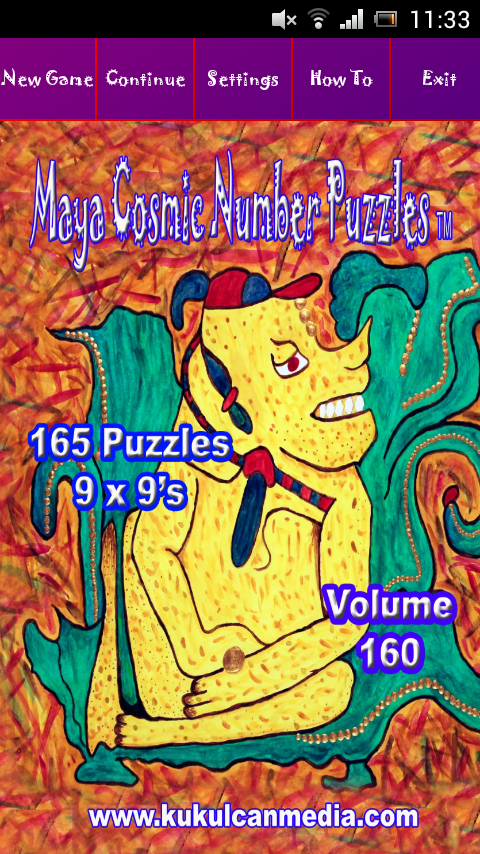 MAYA COSMIC NUMBER PUZZLES 160 Varies with device
