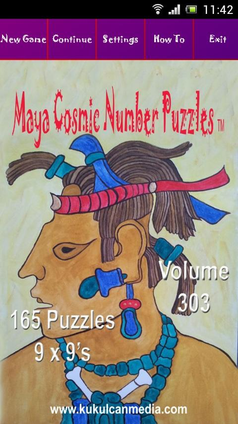 MAYA COSMIC NUMBER PUZZLES 303 Varies with device
