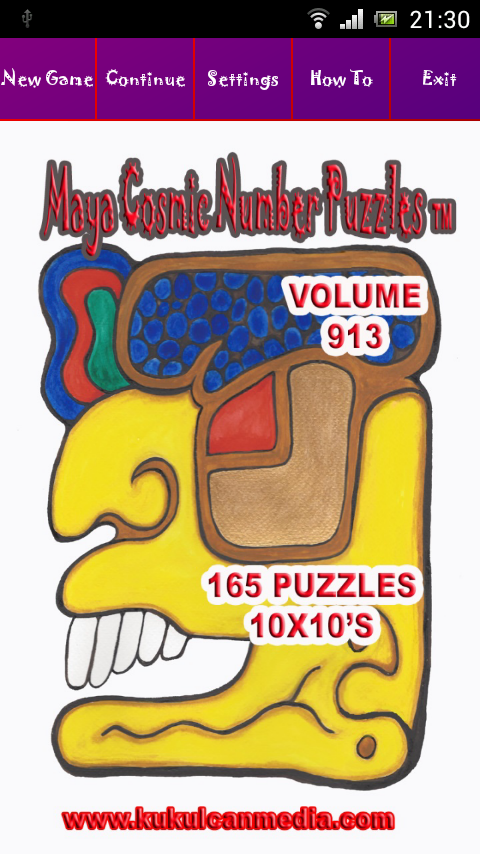 MAYA COSMIC NUMBER PUZZLES 913 Varies with device