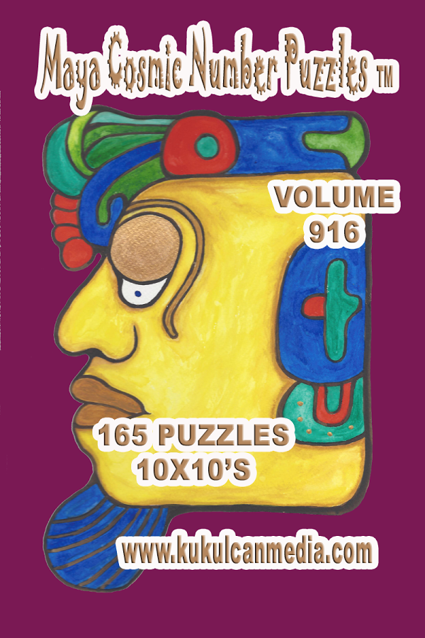 MAYA COSMIC NUMBER PUZZLES 916 Varies with device