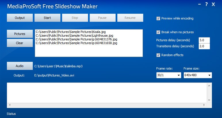 MediaProSoft Free Slideshow Maker 1.9.8
