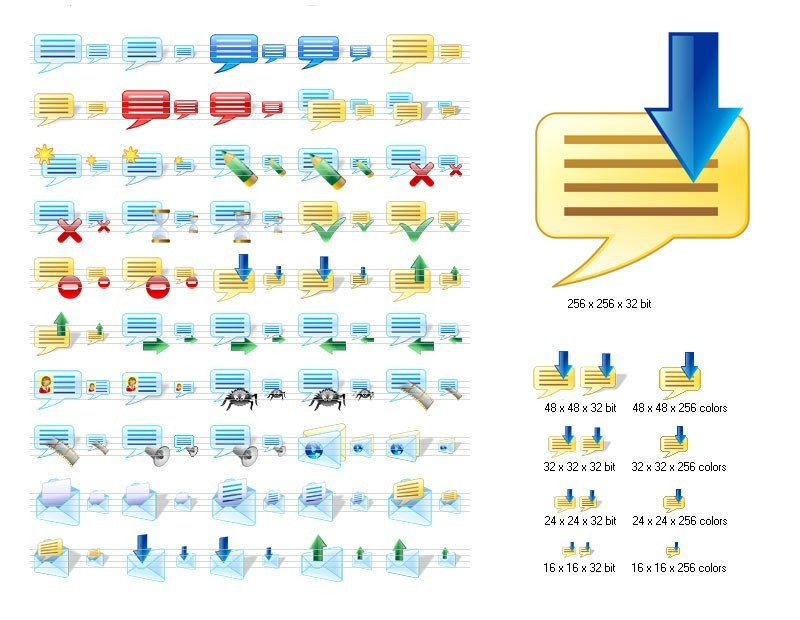 Messenger Icons for Vista 2008.1