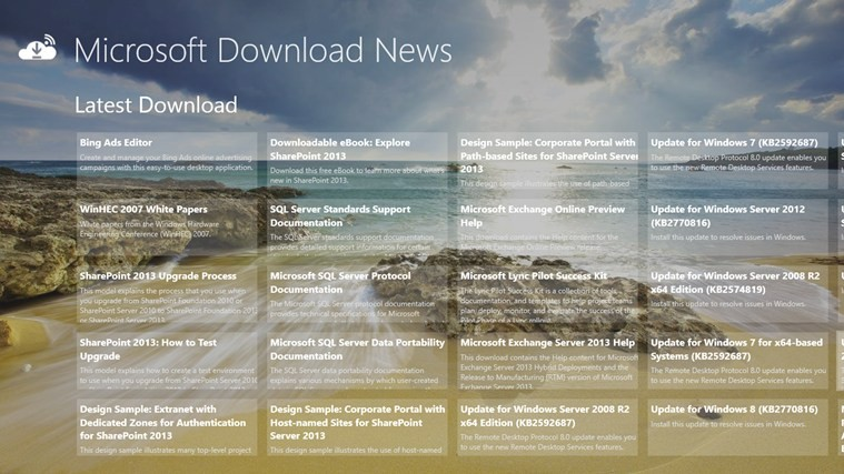 Microsoft Download News 1.0