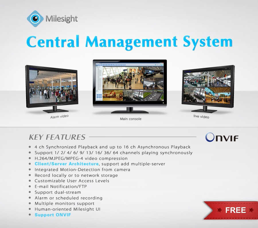 MilesightCMS(ONVIF compatible) 1.0.0.3