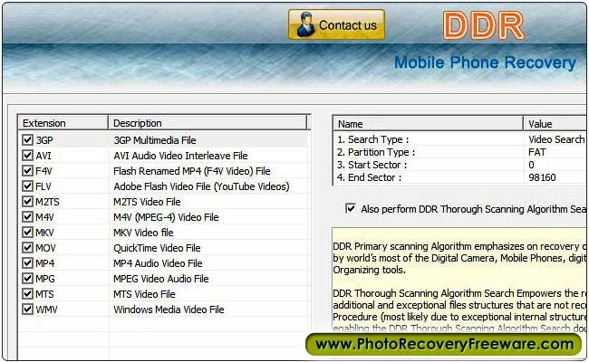 Mobile Phone Recovery Freeware 5.3.1.2