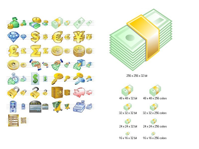 Money Icon Set 2011.2