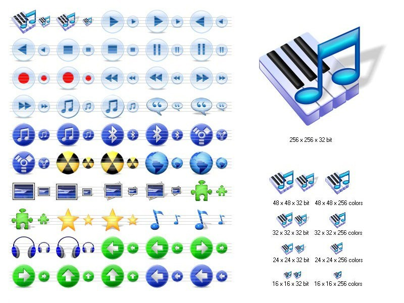 Multimedia Icons for Vista 2011.2