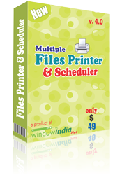 Multiple Files Printer and Scheduler 4.0.3