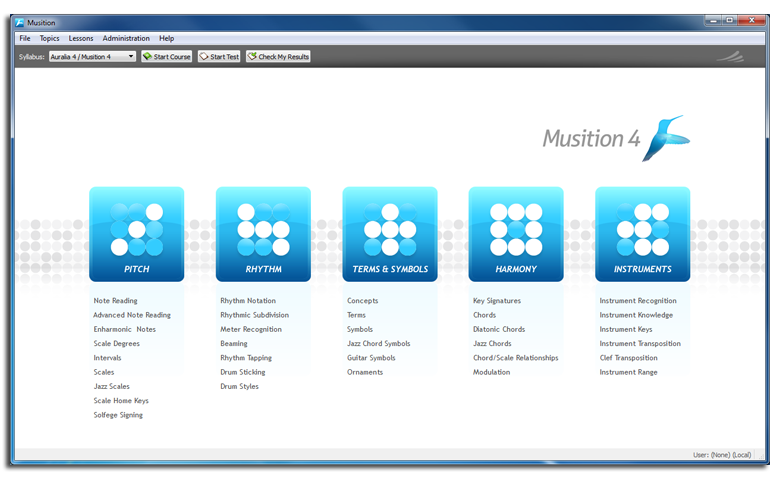 Musition for Windows 4.5.0.45