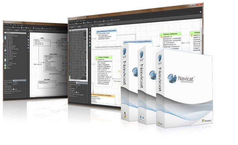 Navicat Data Modeler (Windows) - Database Design Tool - Creating Data Models 1.0.1