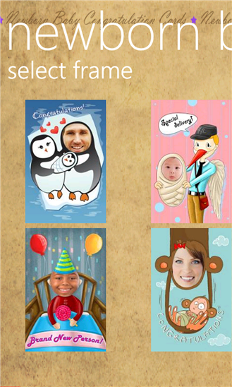 Newborn Baby Congratulation Cards 1.1.0.0