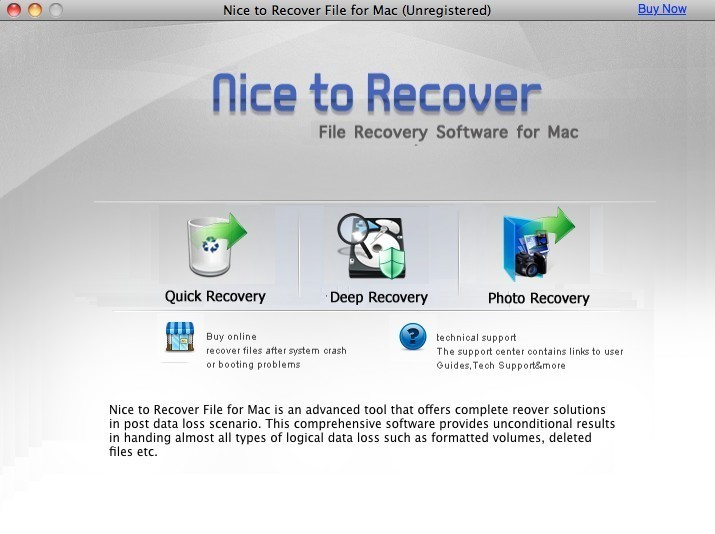 Nice to Recover File for Mac 2.5.1