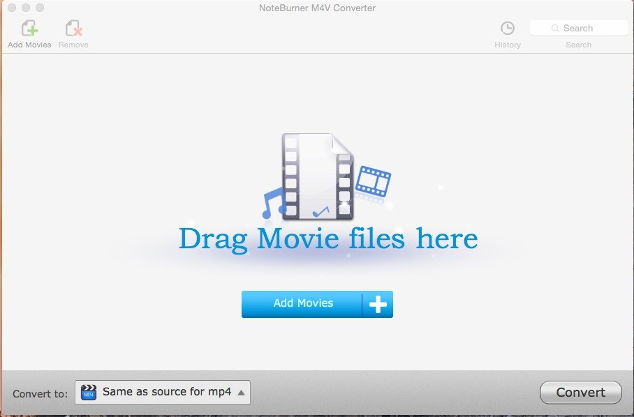 NoteBurner M4V Converter for Mac 4.2.5
