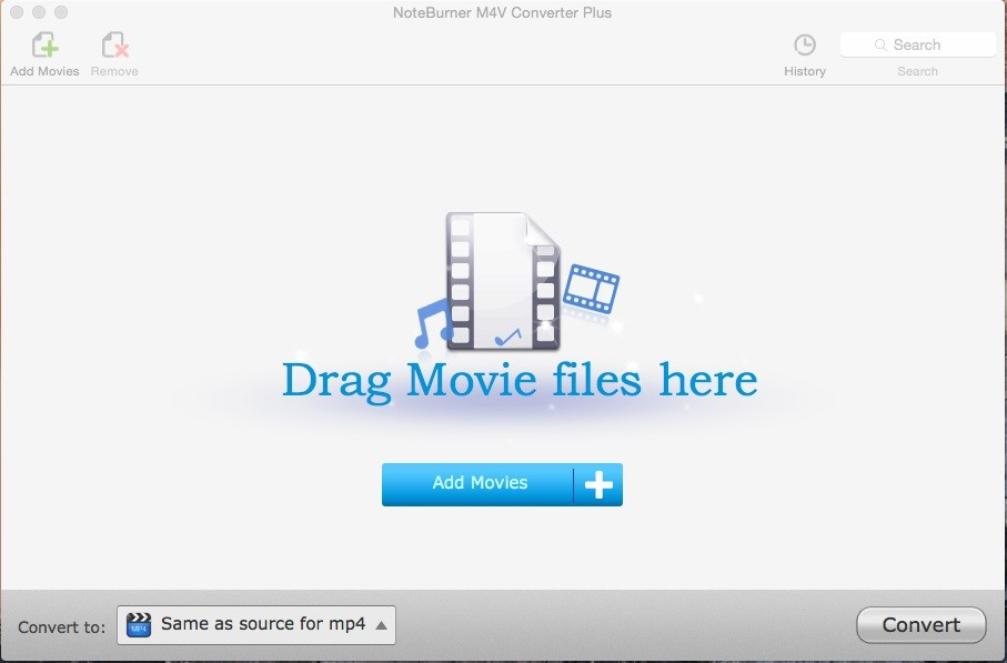 NoteBurner M4V Converter Plus for Mac 4.3.8