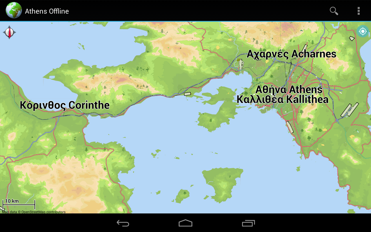 Offline Map Athens, Greece 3.8