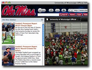 Ole Miss Internet Explorer Browser Theme 0.9.0.1