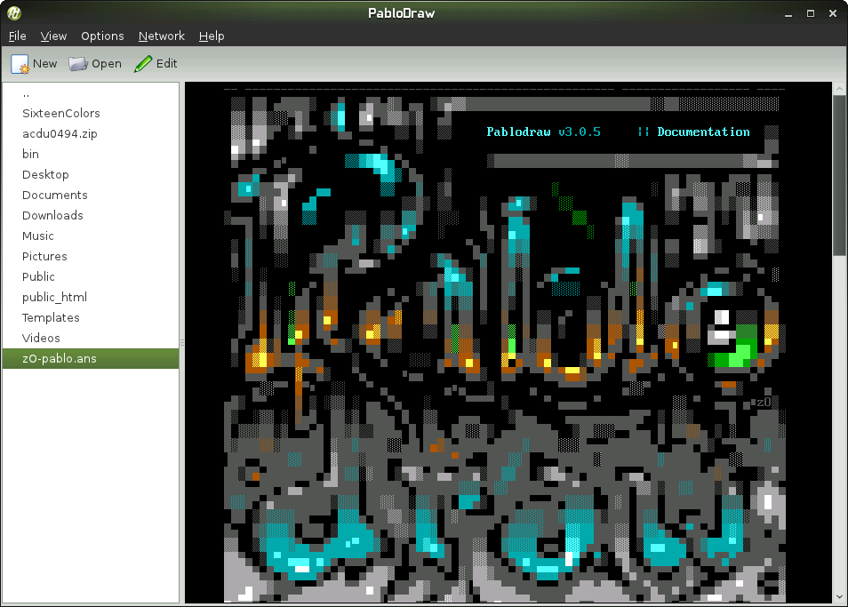 PabloDraw for Linux 3.1.2.30774