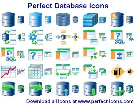 Perfect Database Icons 2011.5
