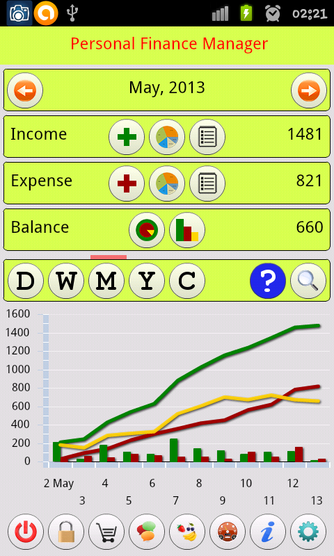 Personal Finance Manager 1.0.6