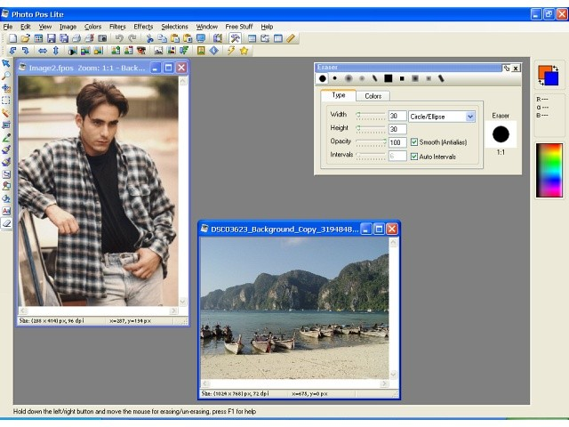 Photo Pos Lite photo editor 1.89.2