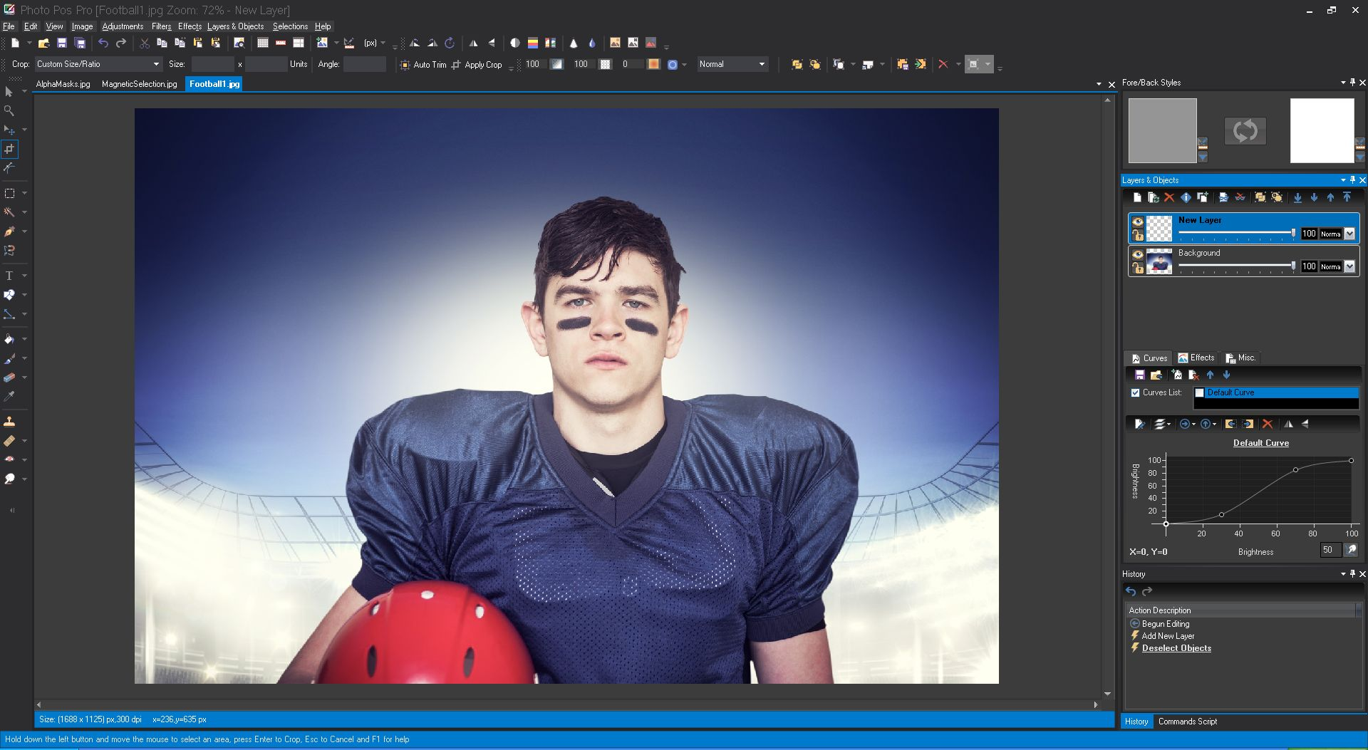 Photo Pos Pro photo editor 3.30