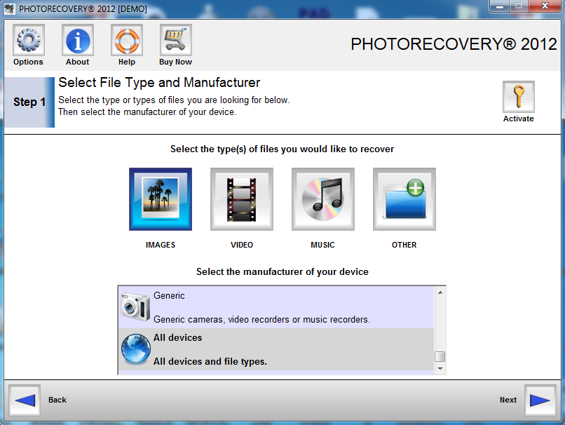 PHOTORECOVERY Standard 2012 5.0.6.7
