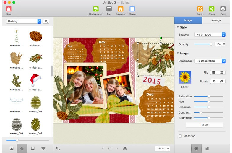 Picture Collage Maker for Mac 3.6.8