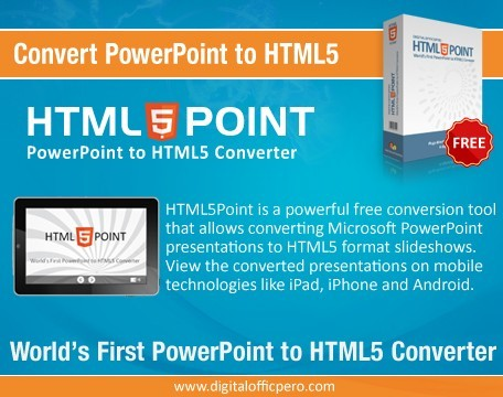 PowerPoint to HTML5 Converter 3.6