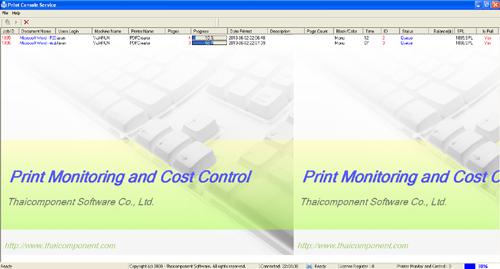 Print Monitoring and Cost Control 6.0