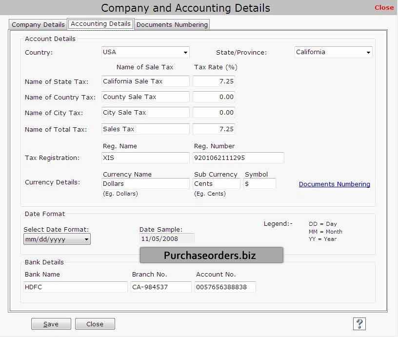 Purchase Order Software 3.0.1.5