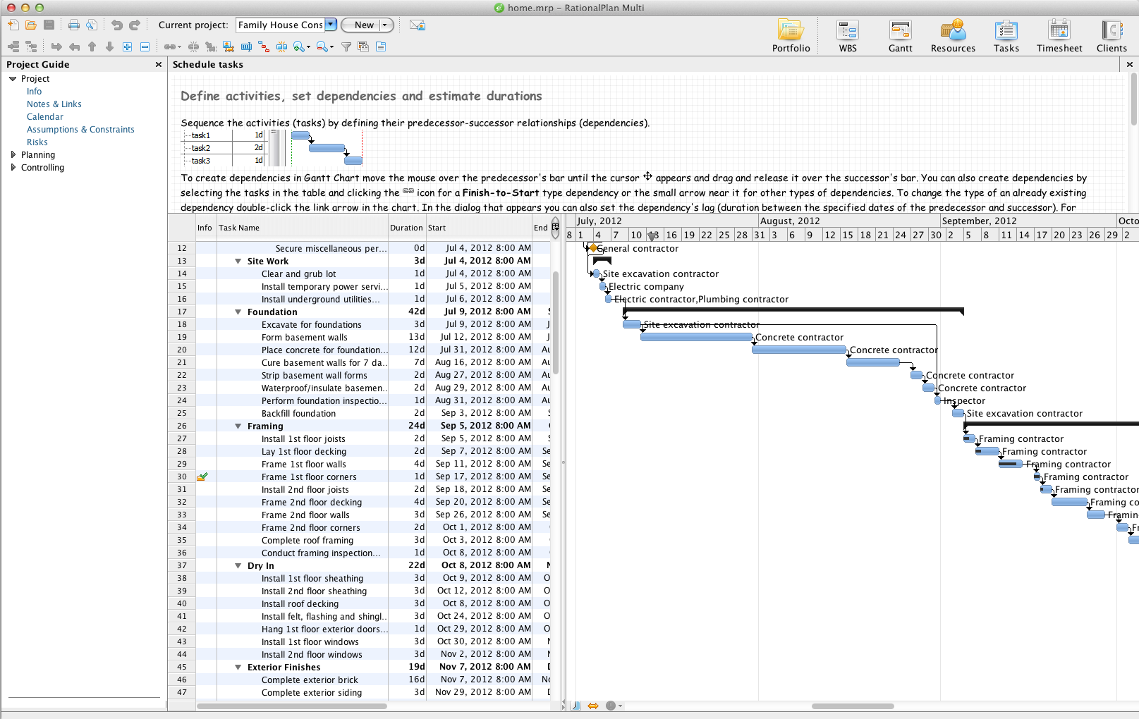 RationalPlan Multi Project for Mac 4.15.0