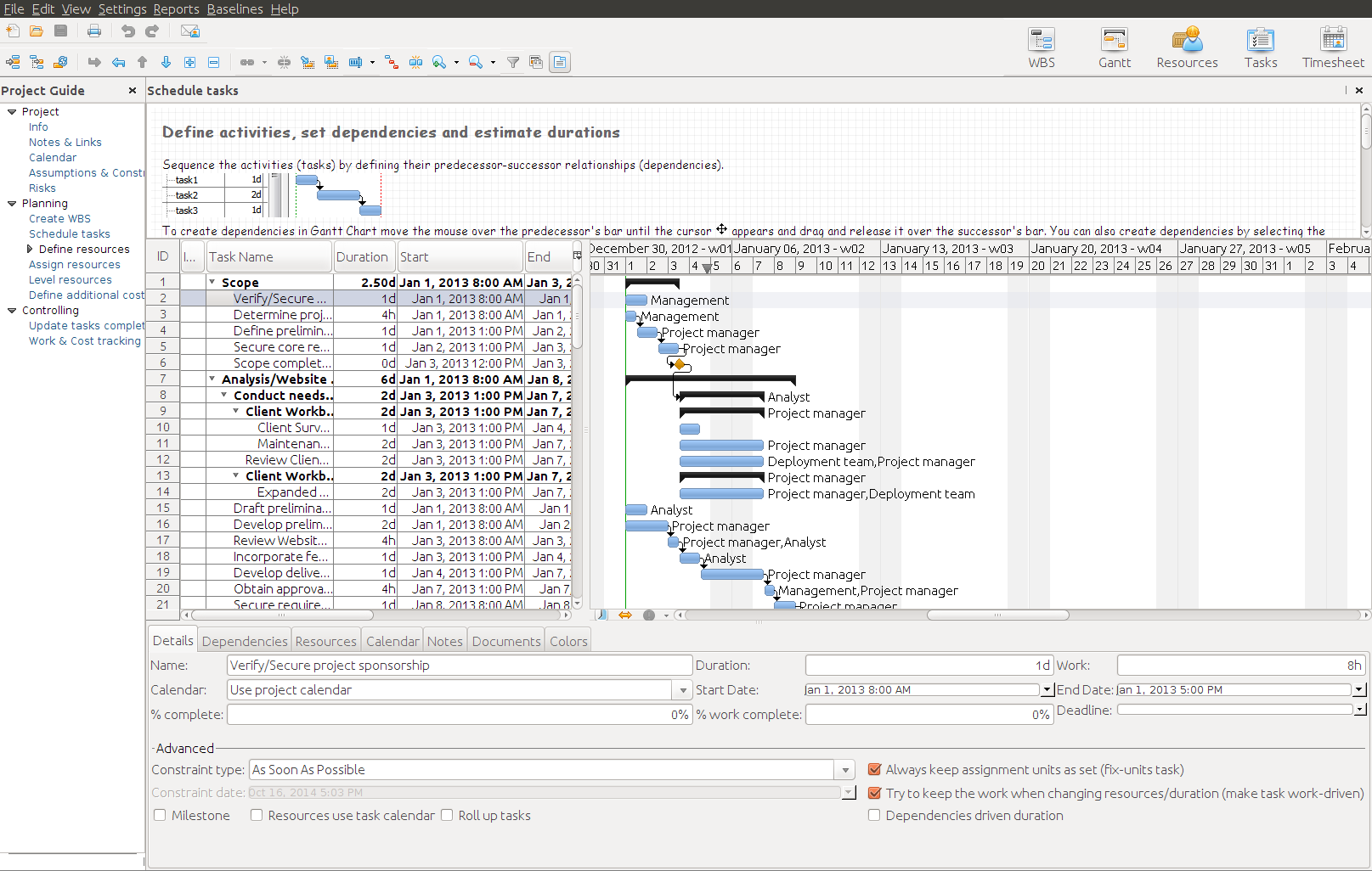 RationalPlan Single Project for Linux 4.16.0