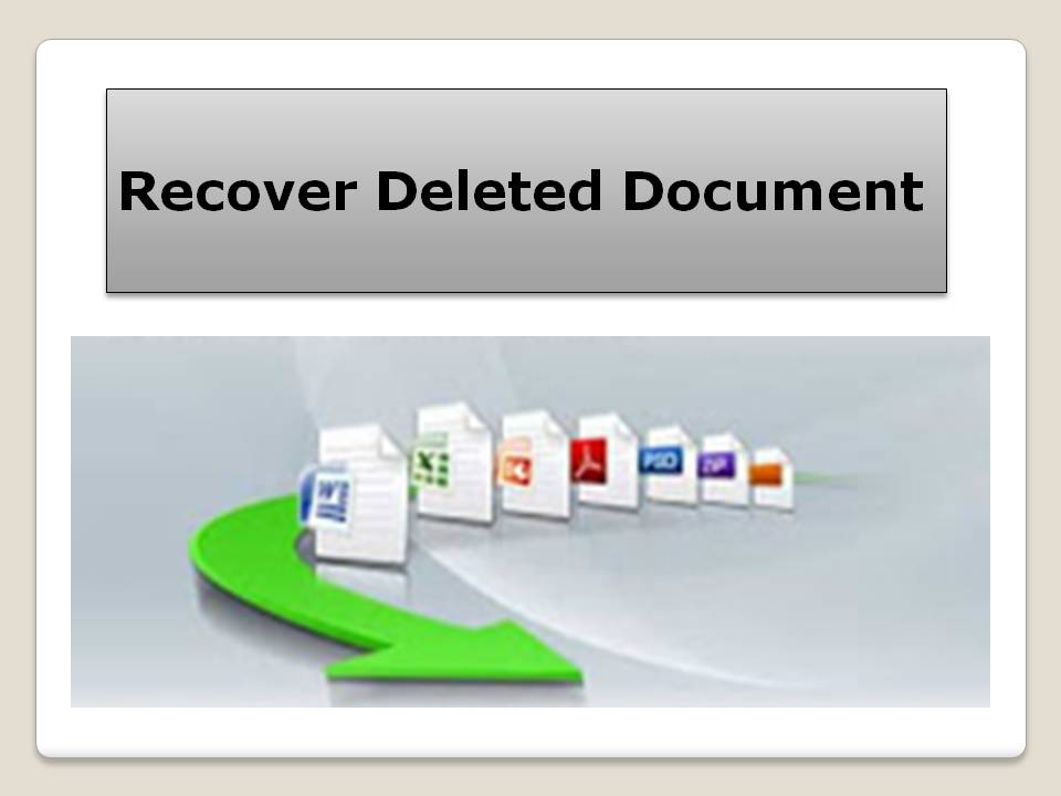 Recover Deleted Document 4.0.0.32