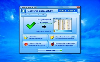 Recover Deleted Files Platinum 4.19