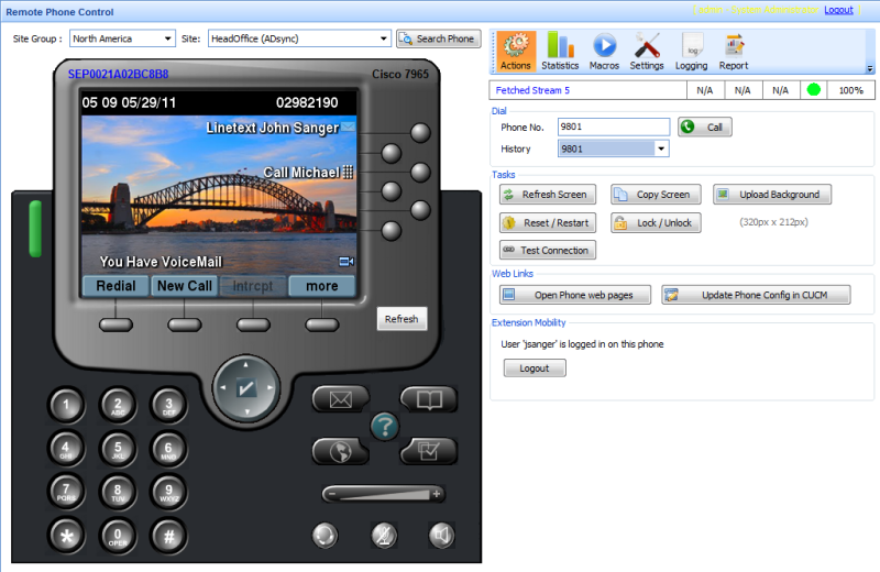 Remote Phone Control for Cisco Phones 1.0.2