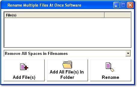 Rename Files Software 7.0