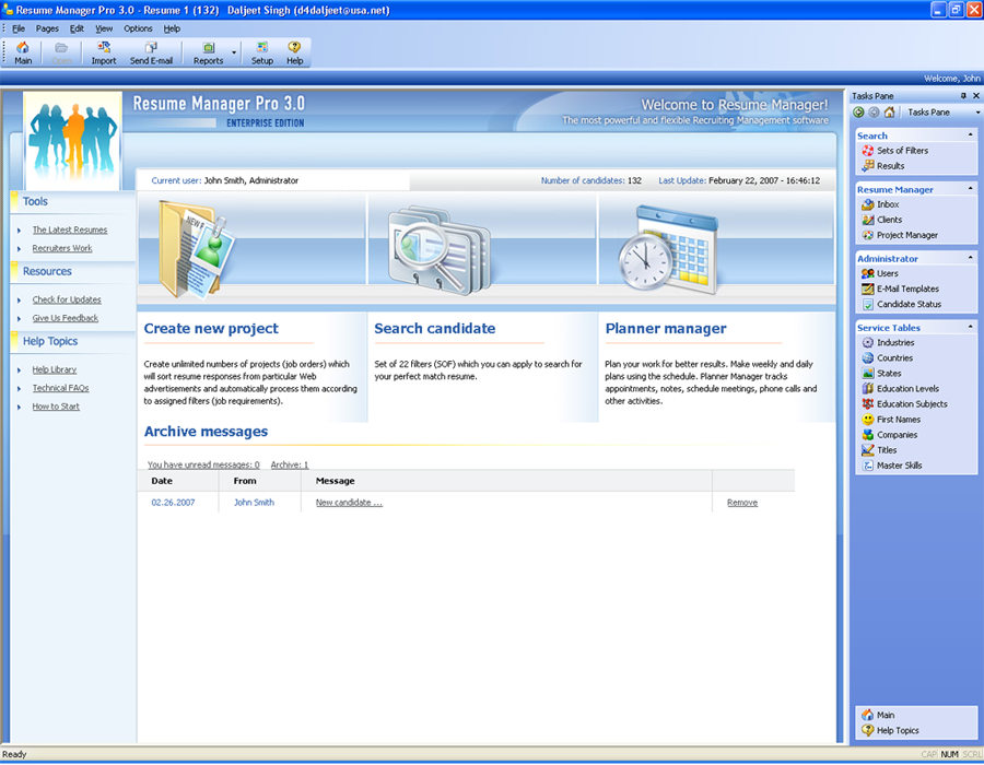 Resume Manager Pro 3.0.2