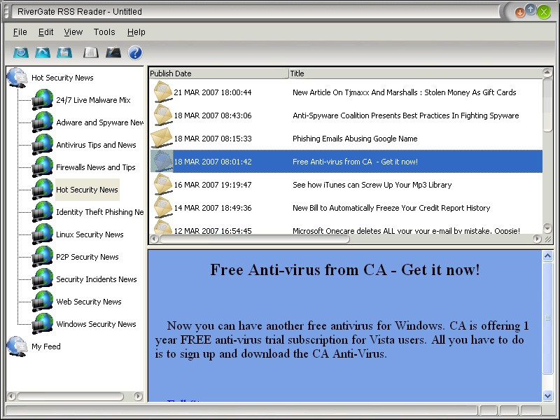 RiverGate Rss Reader 4.3.0