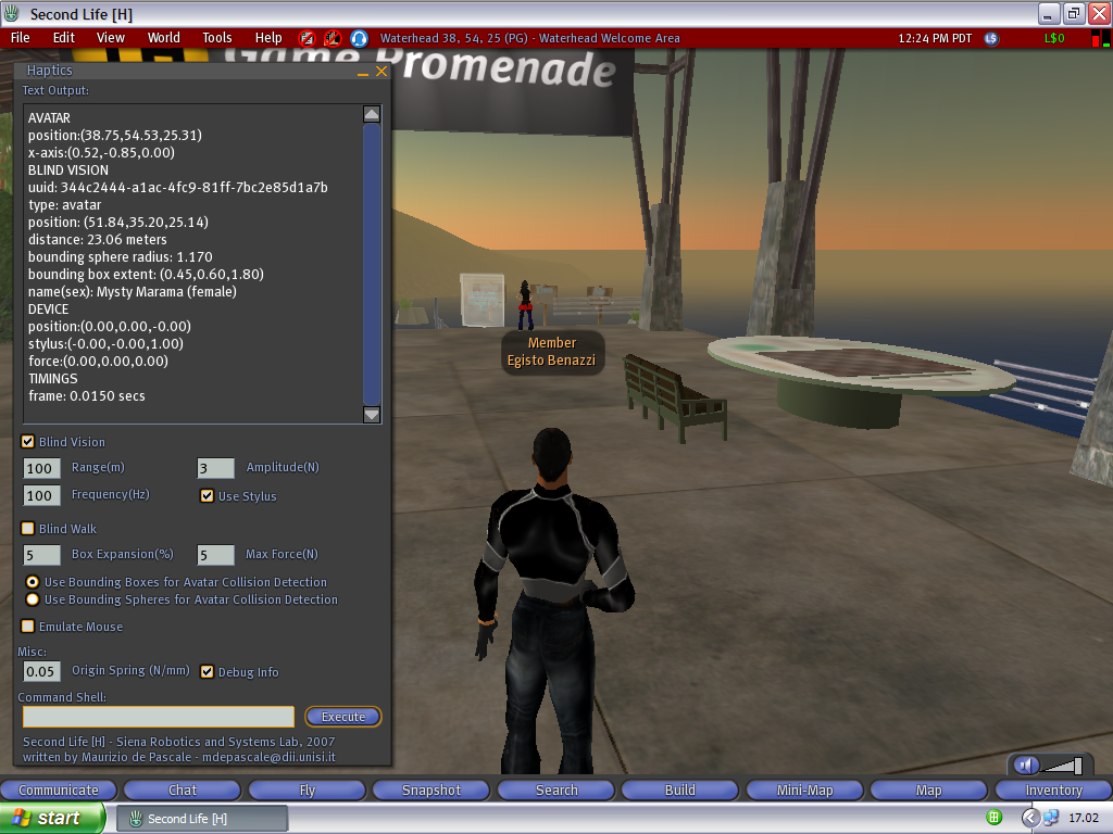 Second Life for Mac 3.4.1.266581