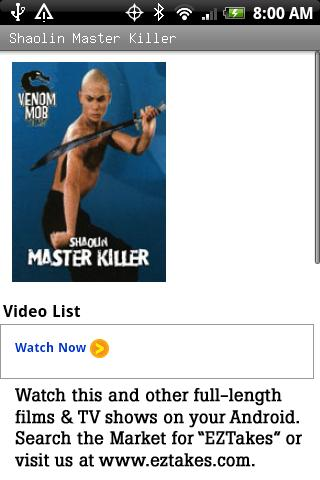 Shaolin Master Killer Movie 2.2.7
