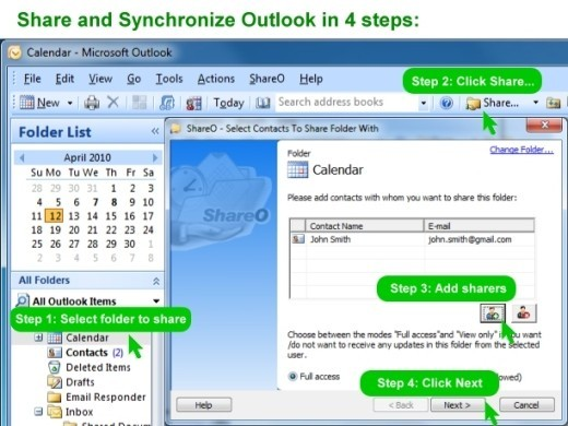 ShareCalendar for Outlook 3.60