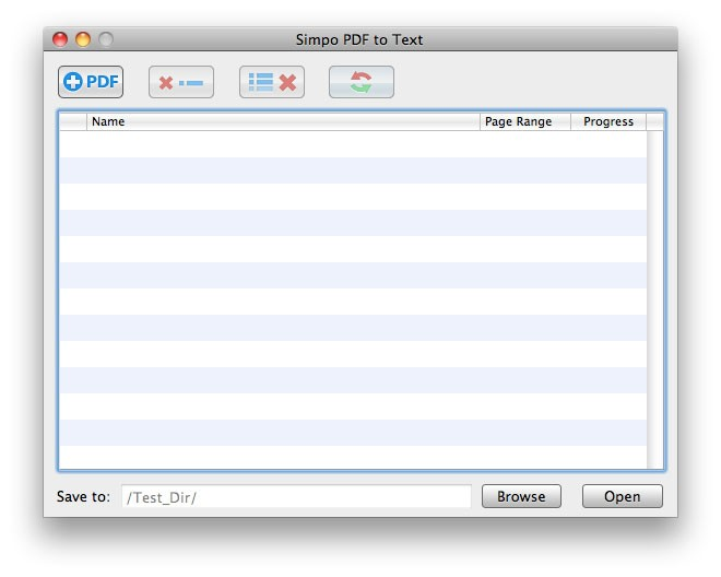 Simpo PDF to Text for Mac 1.3