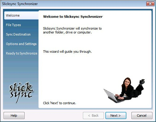 Slicksync Windows Mail Synchronizer Pro 1.0