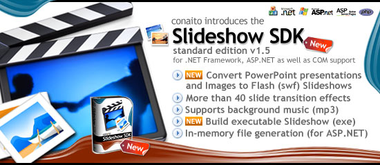 Slideshow SDK for .NET and COM 1.5