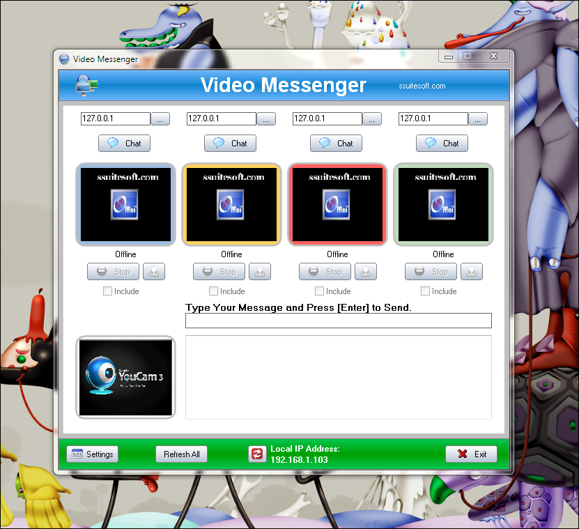 SSuite IM Video Chat 2.6